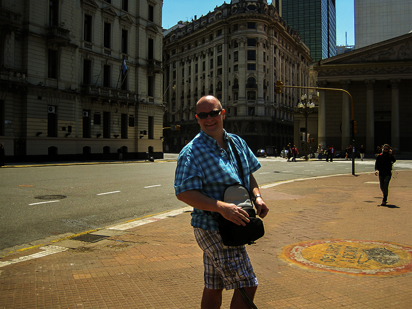 Rob in Buenos Aries- positive effects of travel