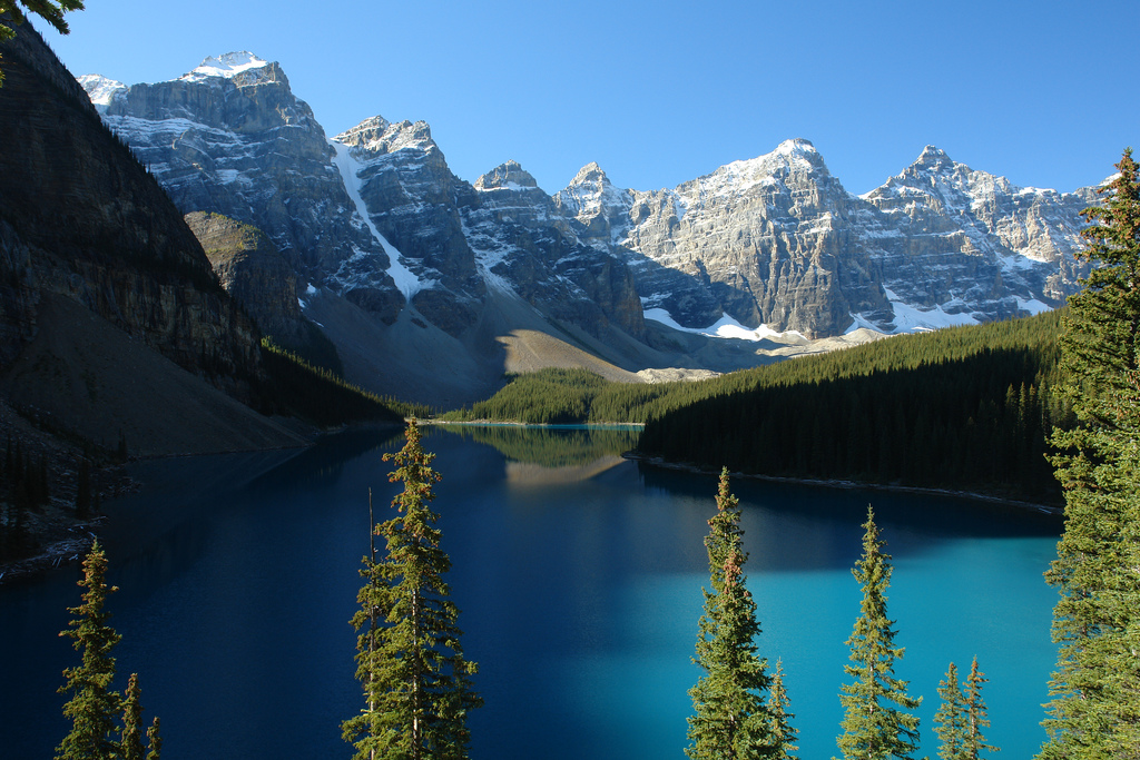 Moraine Lake. Awe inspiring beauty.