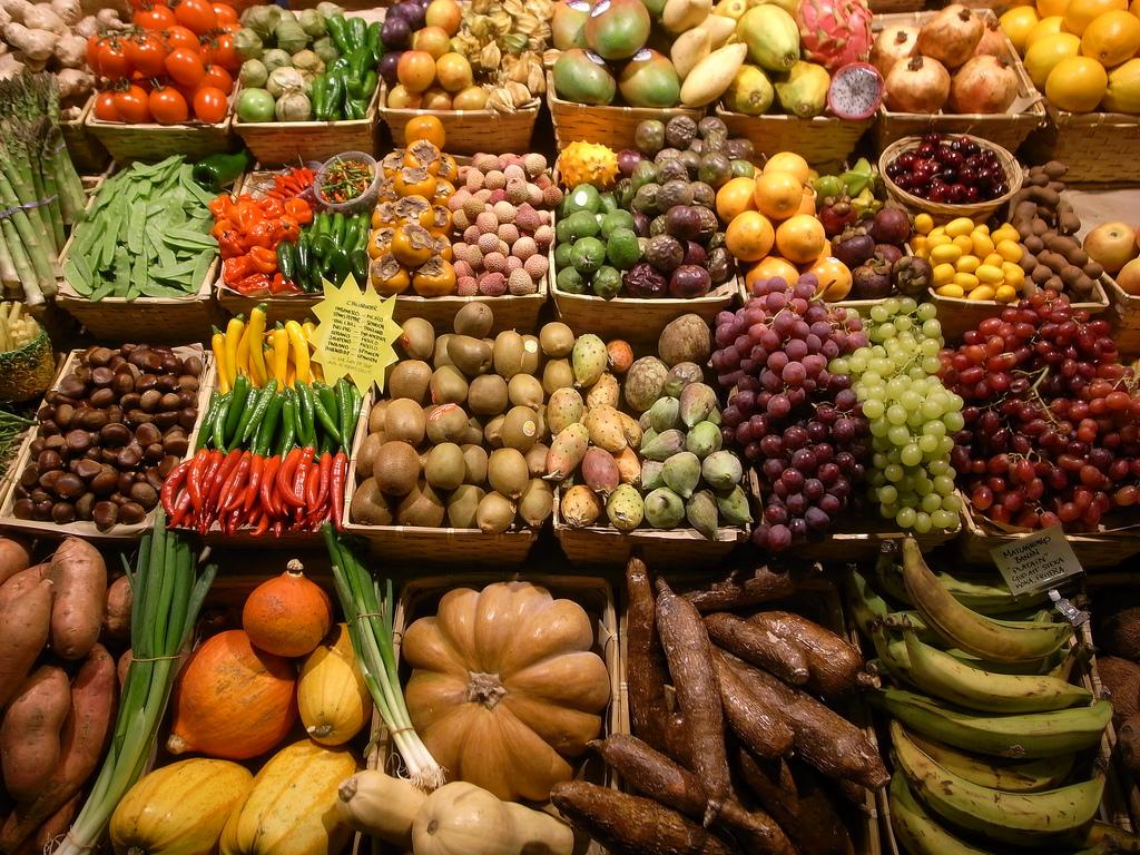 Frukt och Grönt (och andra färger) i Östermalmshallen gluten alergy