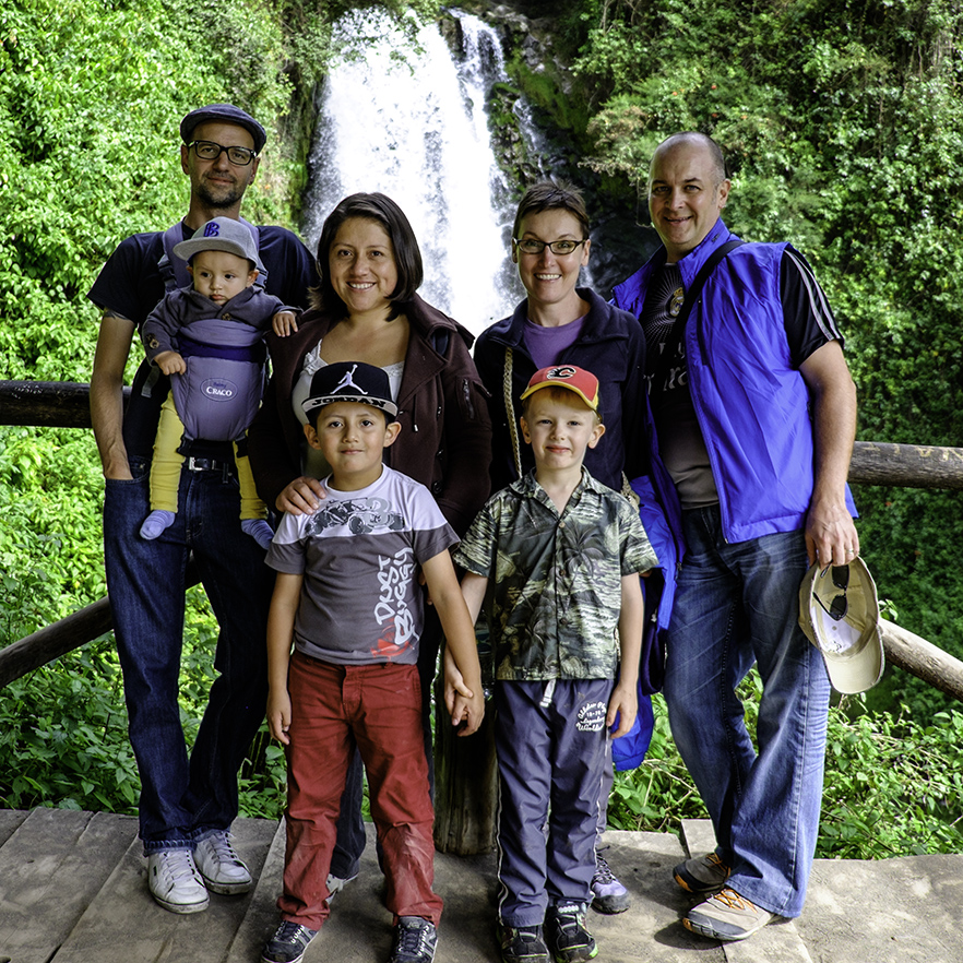 Our friends in Ecuador - how to travel long term with kids