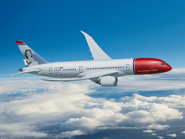 norwegians dreamliner