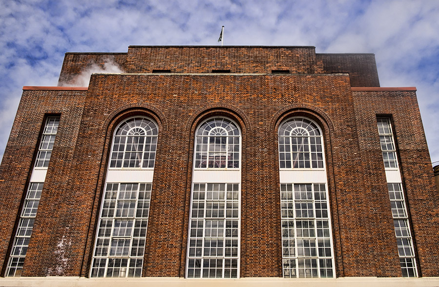 Greene King Brewery brewhouse