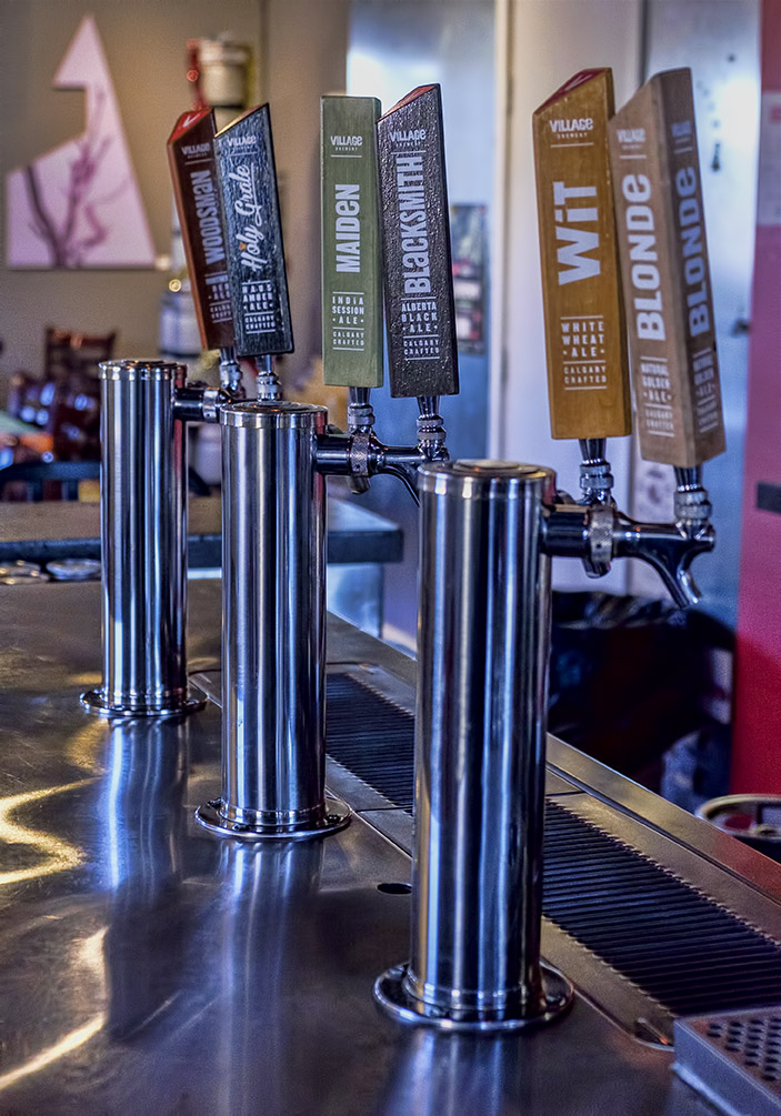 Visit the Village Brewery-Calgary's best attractions