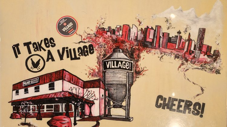 It Takes a Village to Brew Epic Beer- The Village Brewery, Calgary