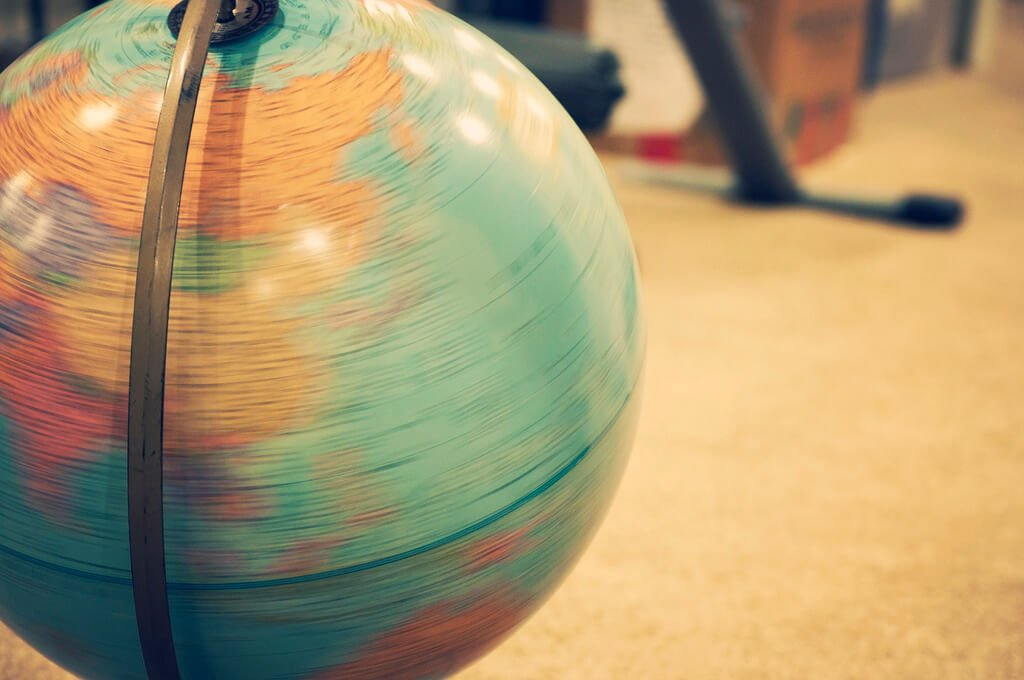 Spin the globe- How to travel long term with kids