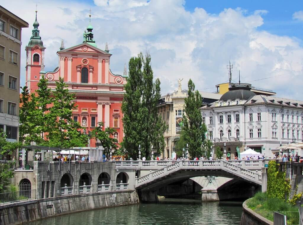 Ljubljana, Slovenia- Cheapest places in Europe