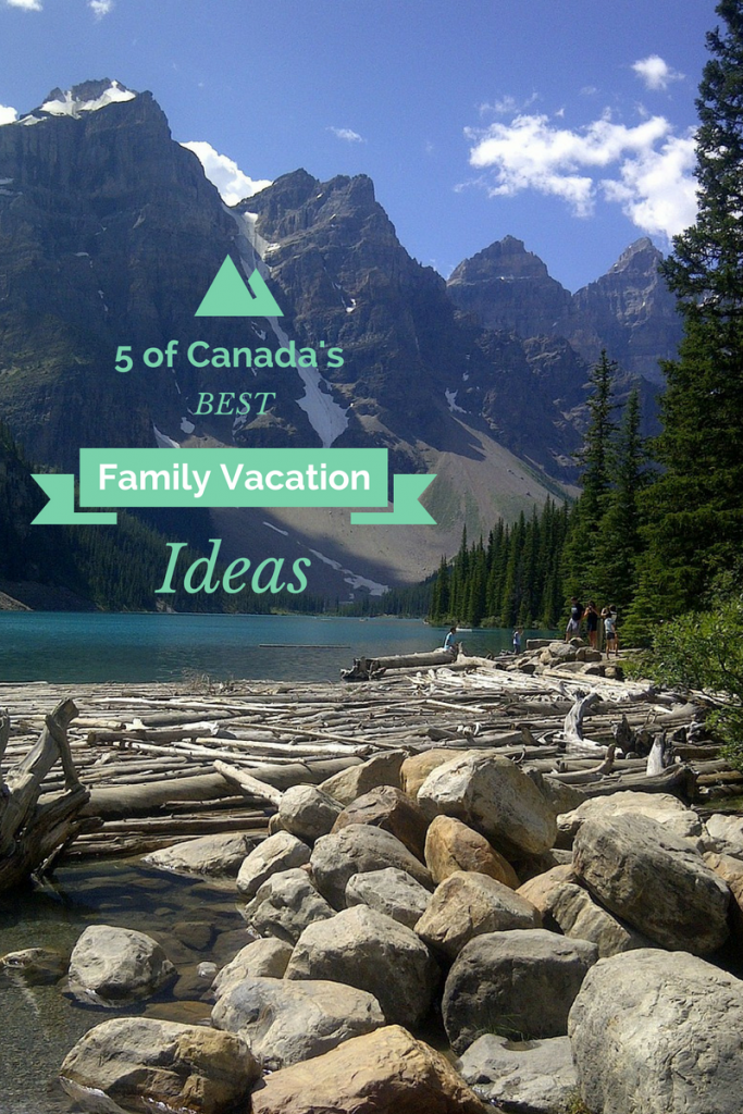 "Canada is huge and loaded with so many incredible family vacation experiences! If you're having trouble deciding where to embark on a unforgettable family trip in ""The Great White North"", here are 5 of the best places to visit with the kids!"