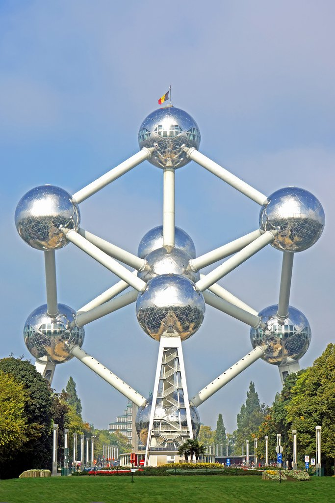 Atomium- 48 hours in Brussels