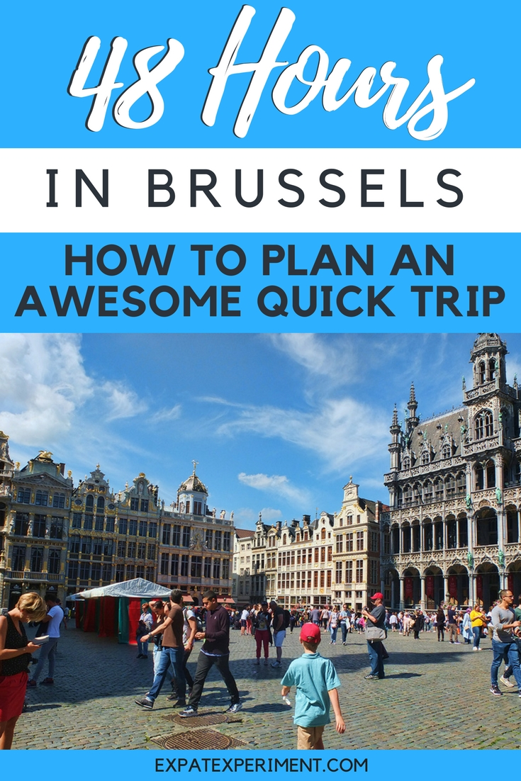 Here are some of our best tips to make the most of a quick trip to beautiful Brussels!