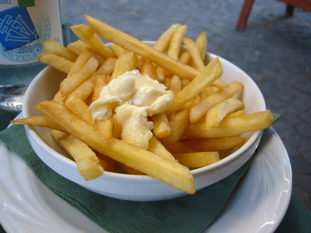Frites- brussels with kids