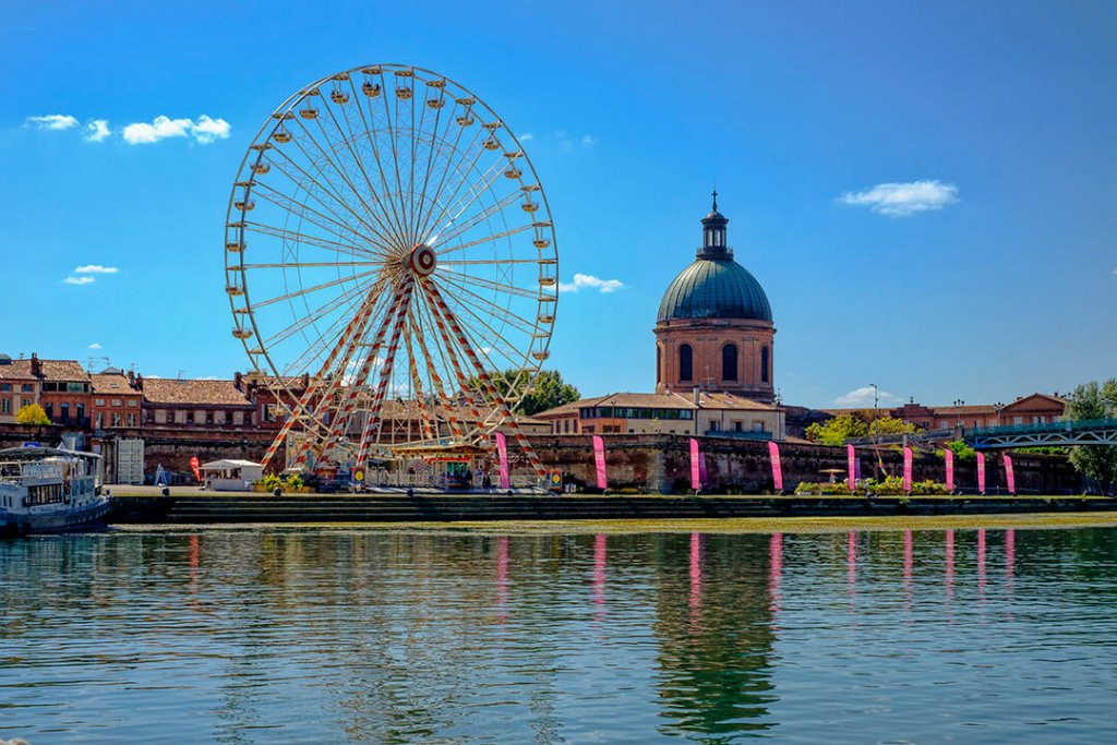 Ferris Wheel Toulouse France