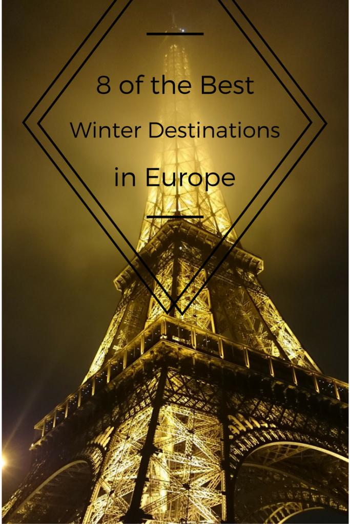 Wondering where to travel to Europe this Winter? Here are eight great ideas to inspire an unforgettable European Winter trip for you!
