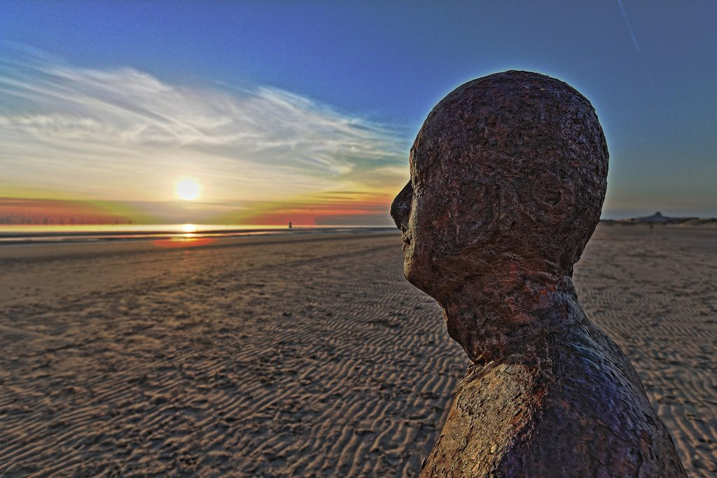 visit Liverpool Crosby Beach- things to do in Liverpool