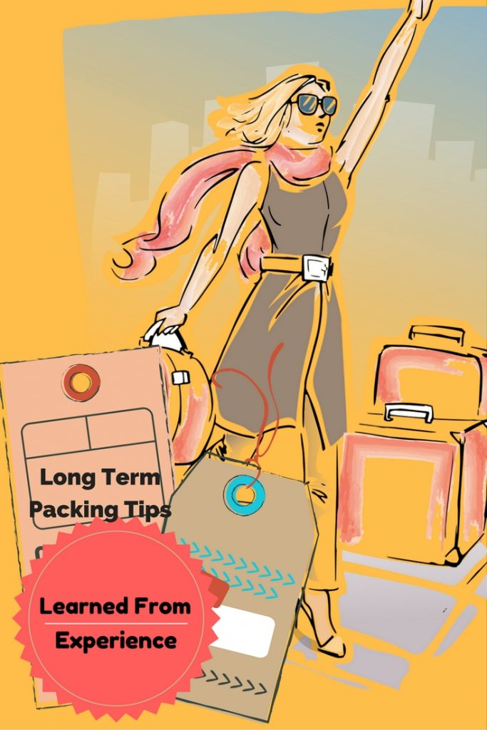 We've been living out of suitcases for over three years and we've actually come to enjoy it. Here are our best packing tips learned from experience!