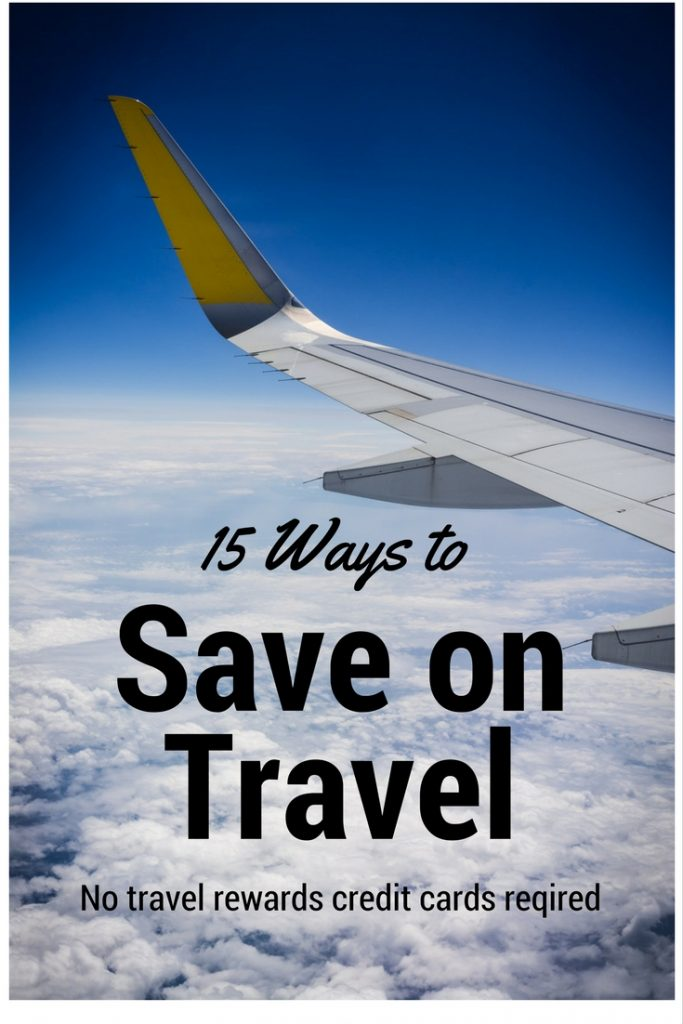 Want to save time and money on travel in 2017? It can be easier than you think. Coordinating travel rewards credit cards can end up being costly and time consuming. Here are 15 cheap ways to travel this year- no travel rewards programs required!
