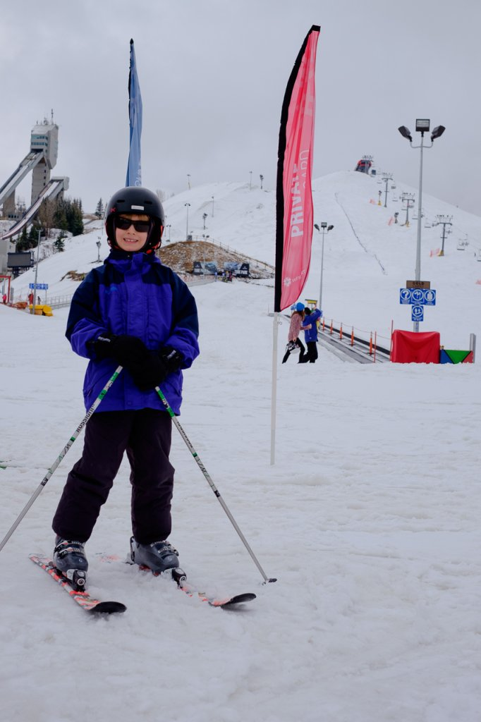 Learn to ski at Winsport- Calgary staycation ideas