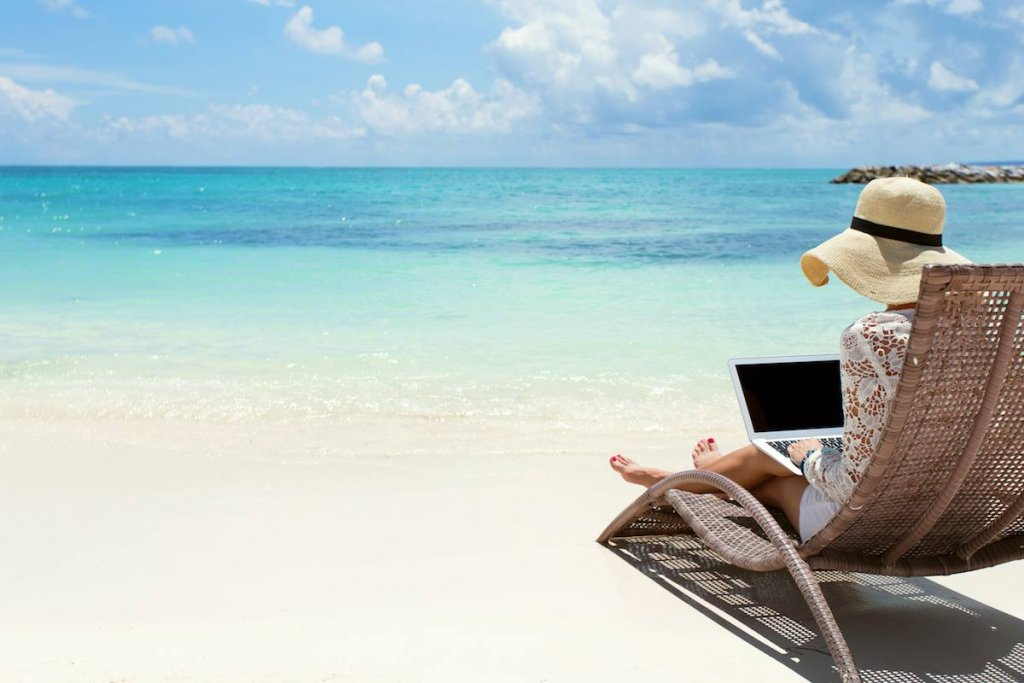 Ways to make money online while traveling.