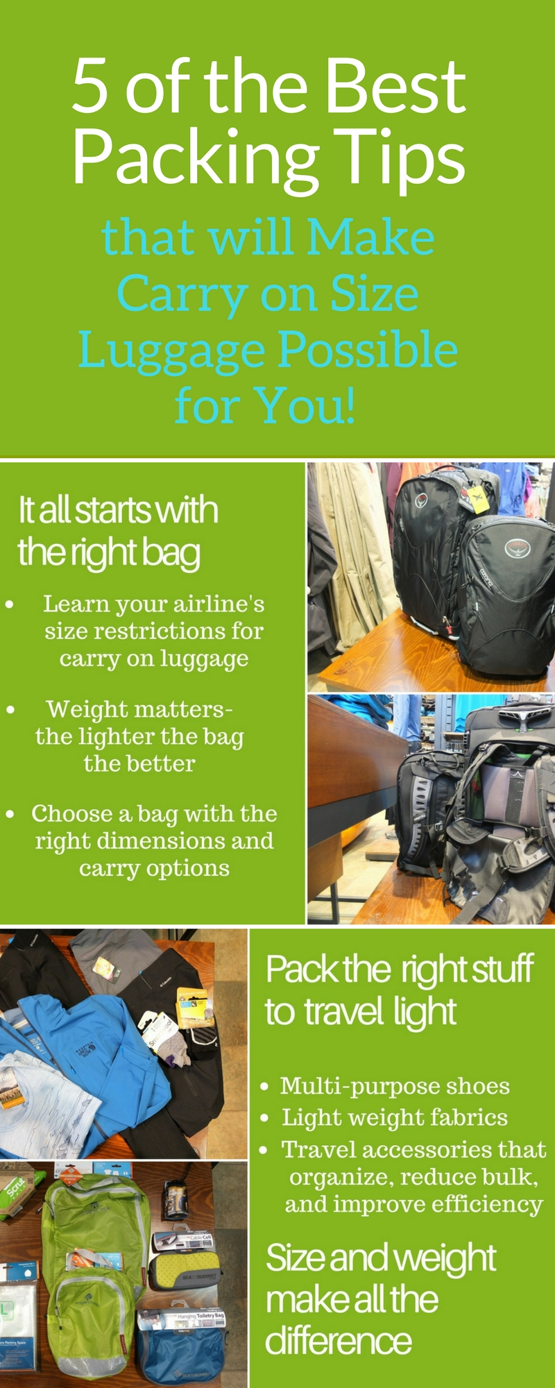 5 Of The Best Packing Tips To Make Carry On Size Luggage
