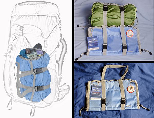 Gobi Gear in a backpack AB