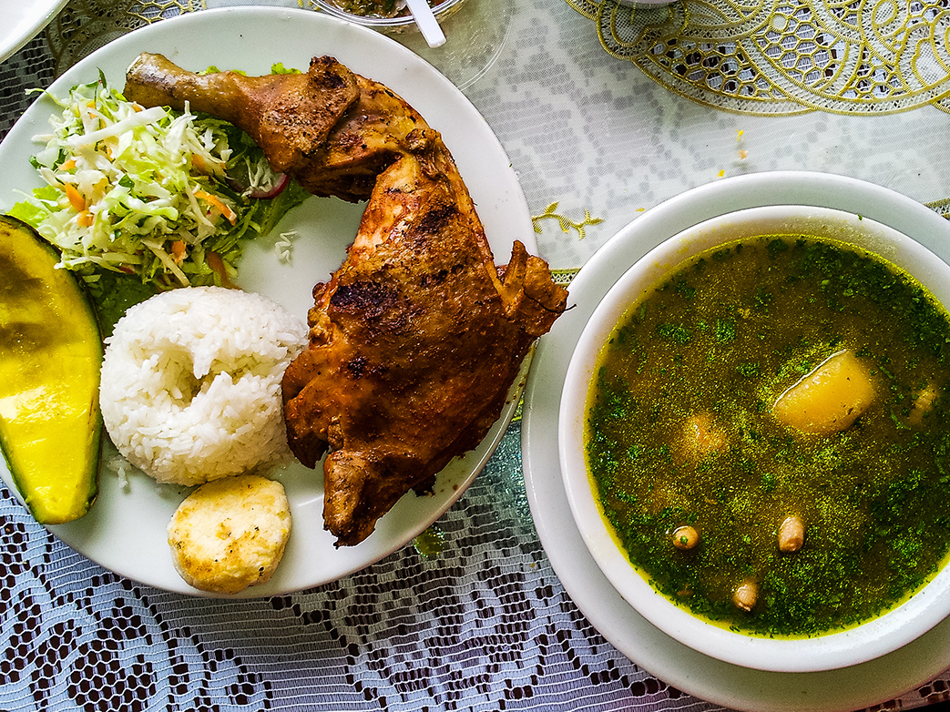 Colombia cuisine