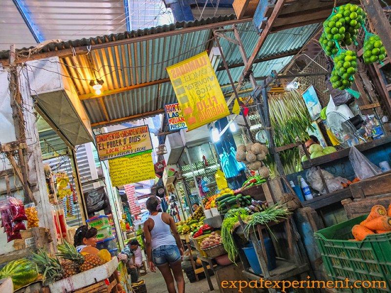 open air market barranquilla