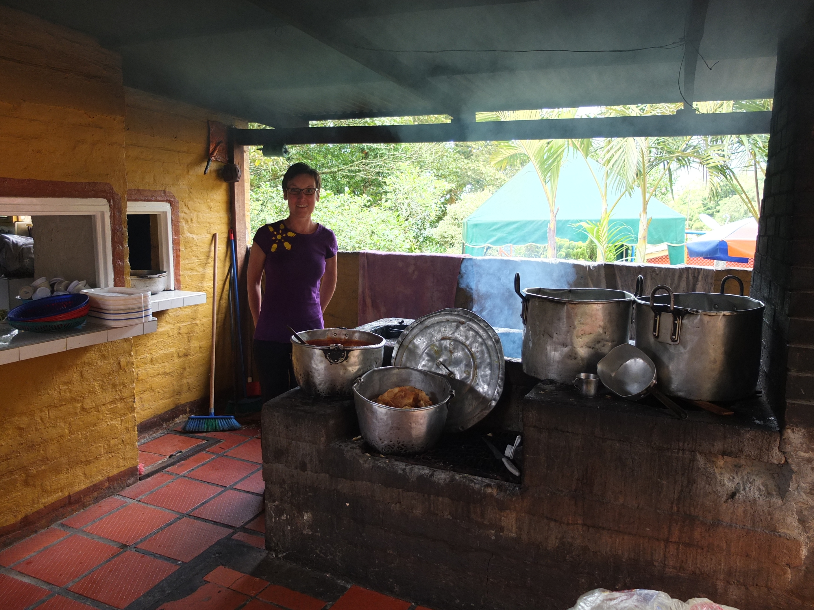 Colombia cooking