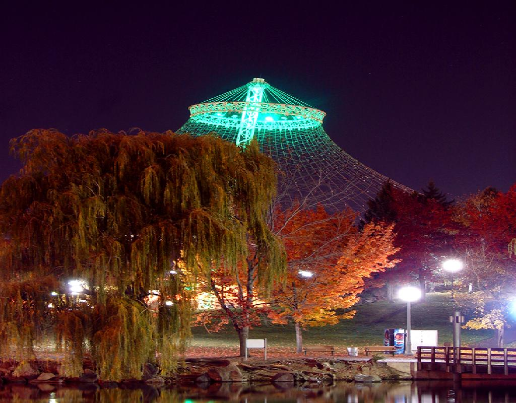 Pavilion by Night