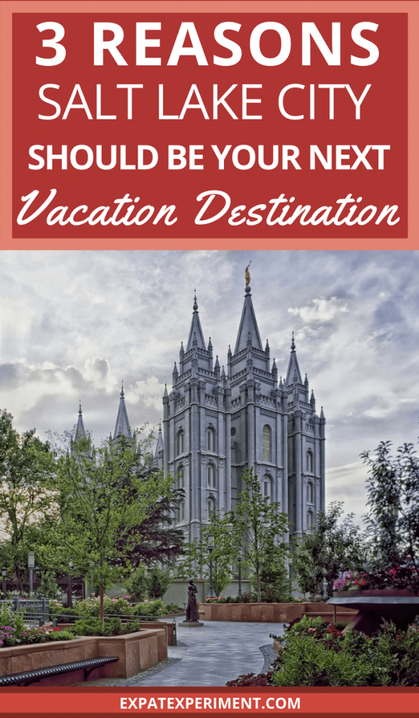 An attractive blend of metropolitan amenities and small town friendliness, Salt Lake City is an ideal destination for your next travel adventure. It combines easy access to outdoor recreation, stunning architecture, and a surprising array of dining options. Three undeniable reasons that make SLC an awesome place to visit.