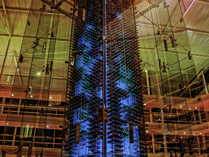 Wine Tower Radisson Blu Stansted