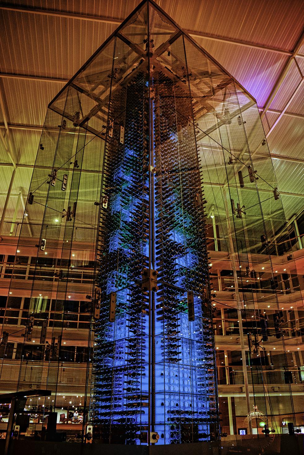 Wine Tower Radisson Blu Stansted