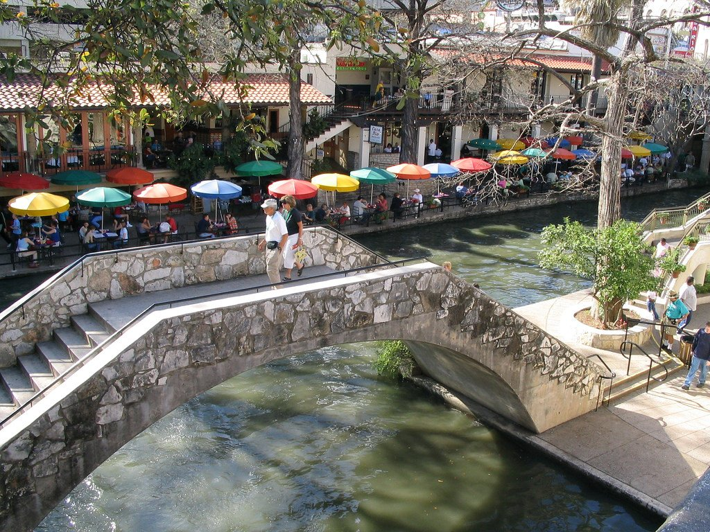 River walk- fun in San Antonio