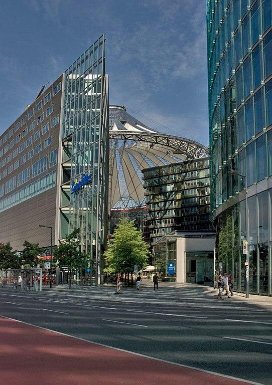 Sony Center at Potsdamer Platz