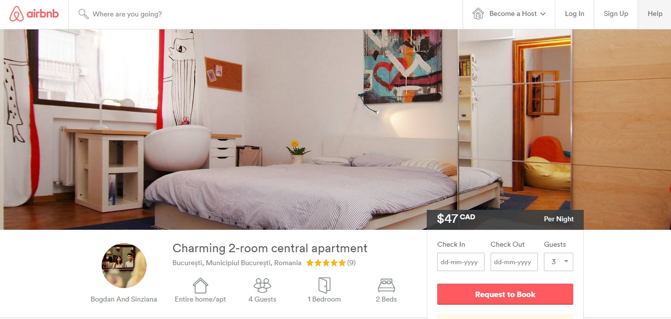 traveling with airbnb