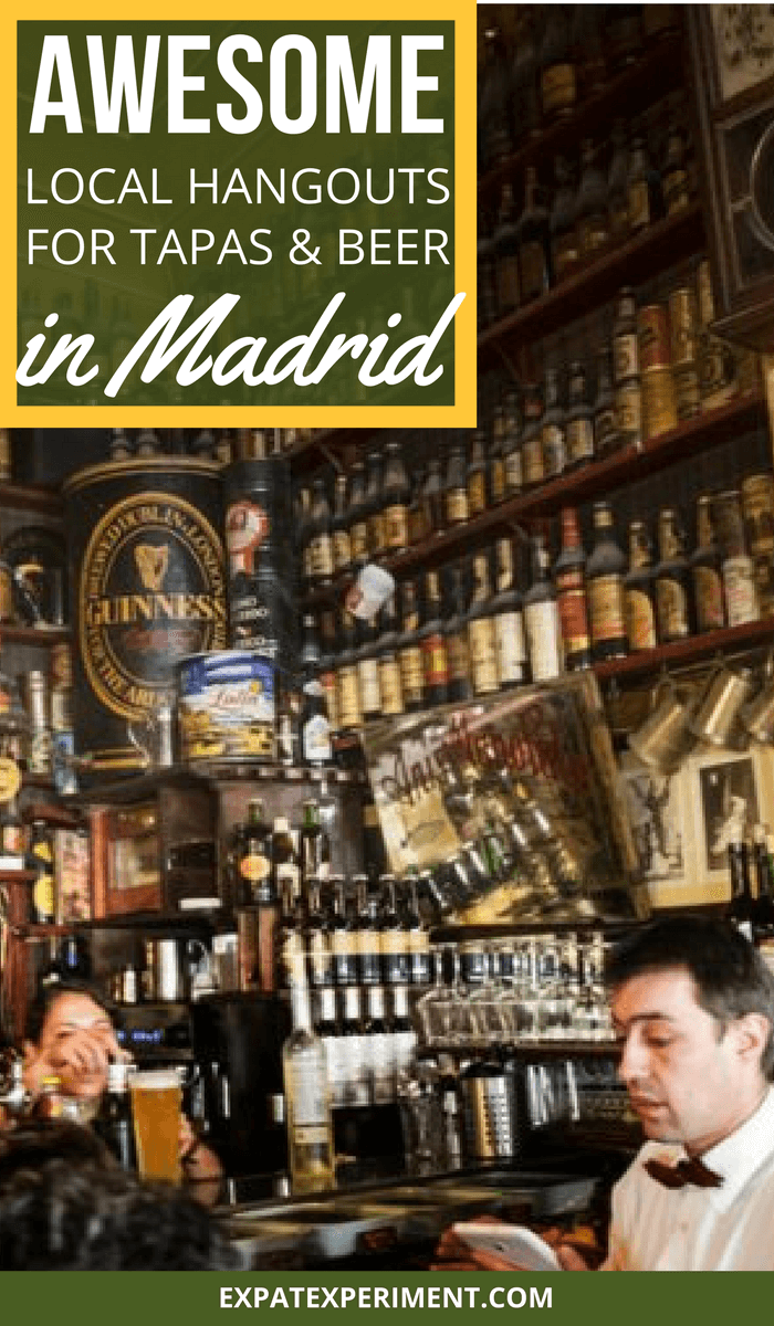 Tapas and beer Madrid- The Expat Experiment (2)