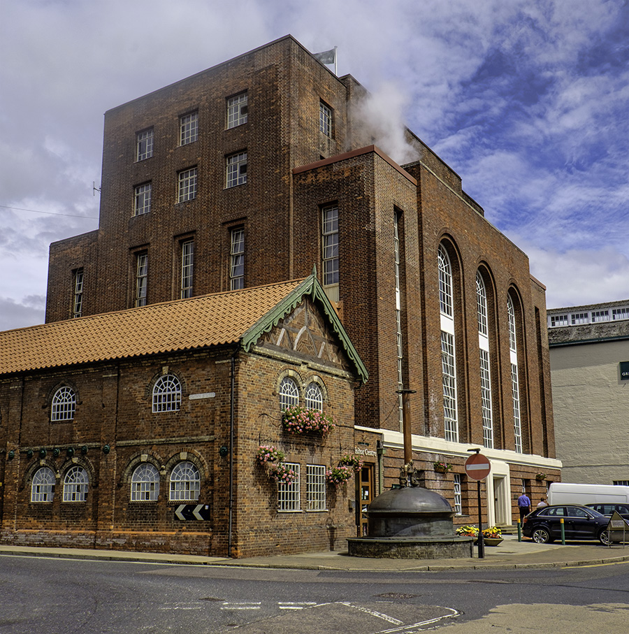 Green King Brewery building