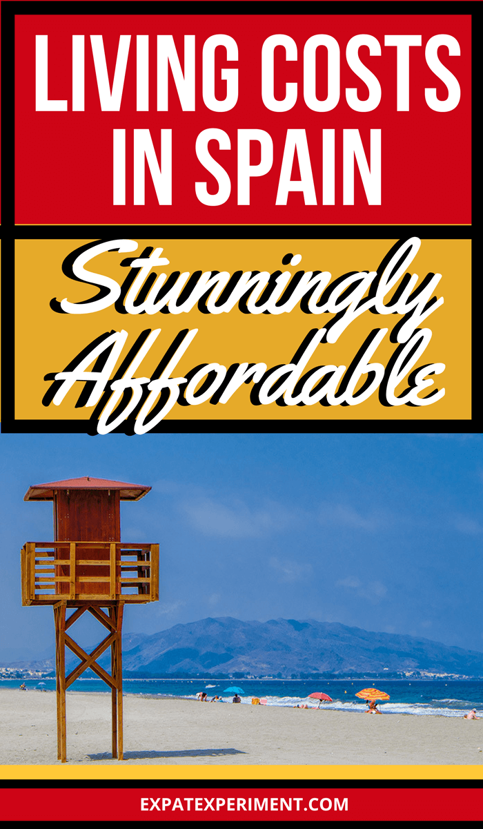 Living costs Spain 3 - The Expat Experiment