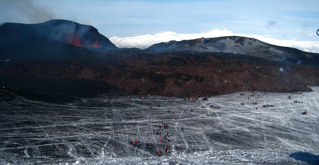 things to do in Iceland- Volcano lava field tours