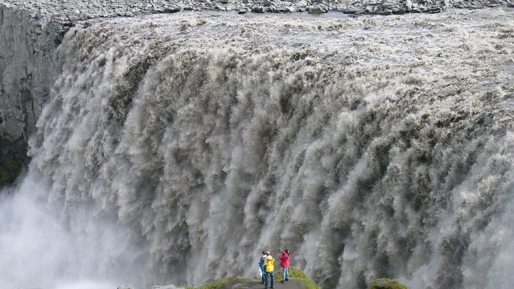 things to do Iceland- Dettifoss waterfall