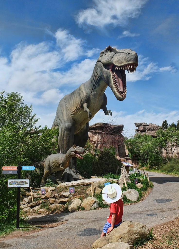 Prehistoric Park at The Calgary Zoo- Calgary's best attractions