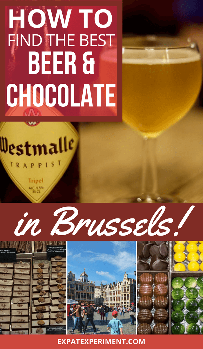We enjoyed a trip to Brussels and took a food and drink tour early on to make the most of our time there. It was a great way to learn about Brussels and the things it's best known for- delicious beer and divine chocolate! We're confident we tried the best of both during our stay. Here's how to find the best beer and chocolate in Brussels!