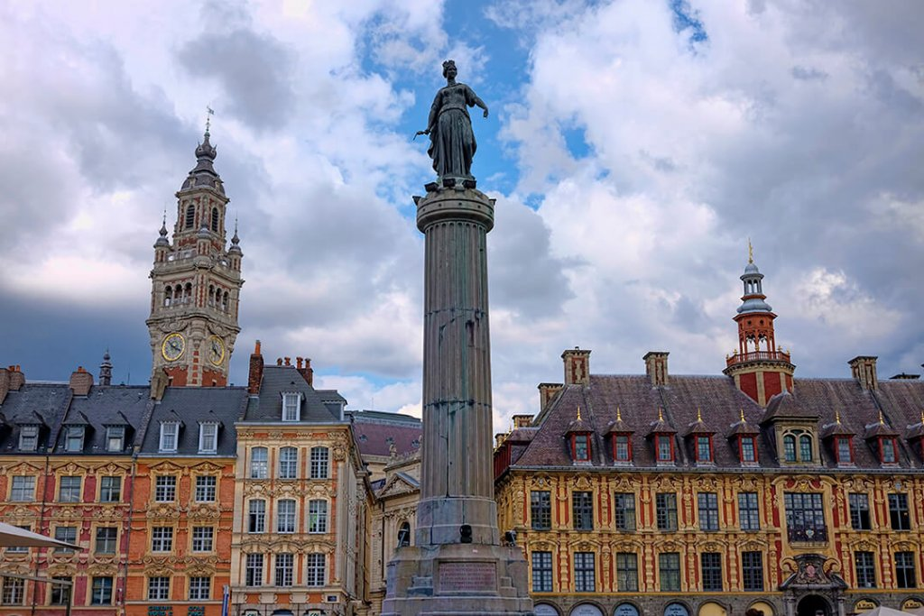 Grand Place- 48 hours in Lille