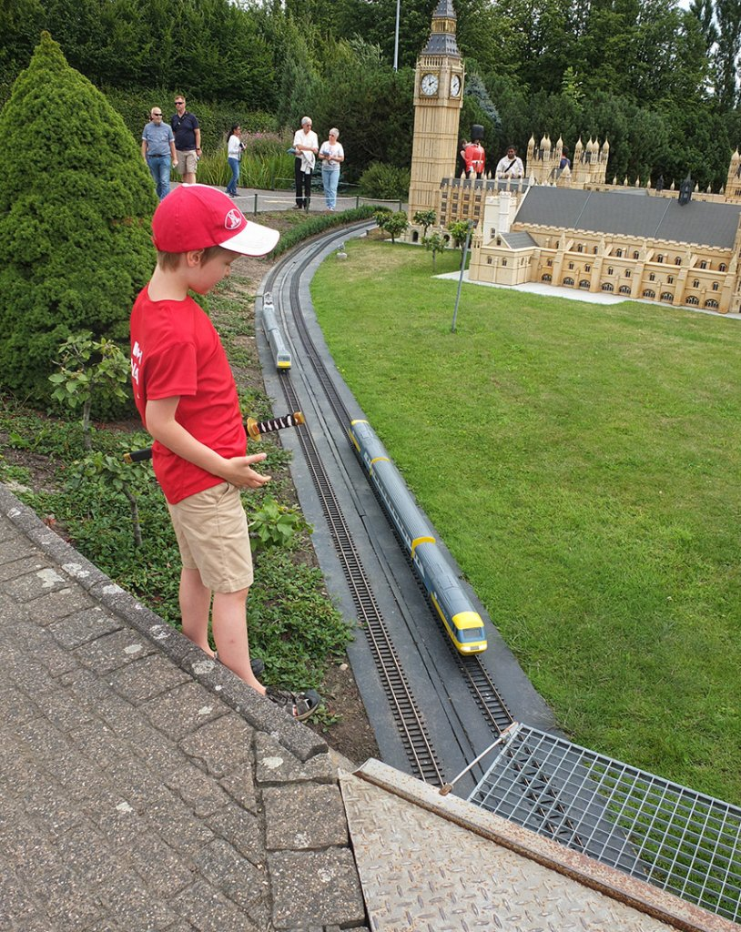 Mini Europe- Brussels with kids