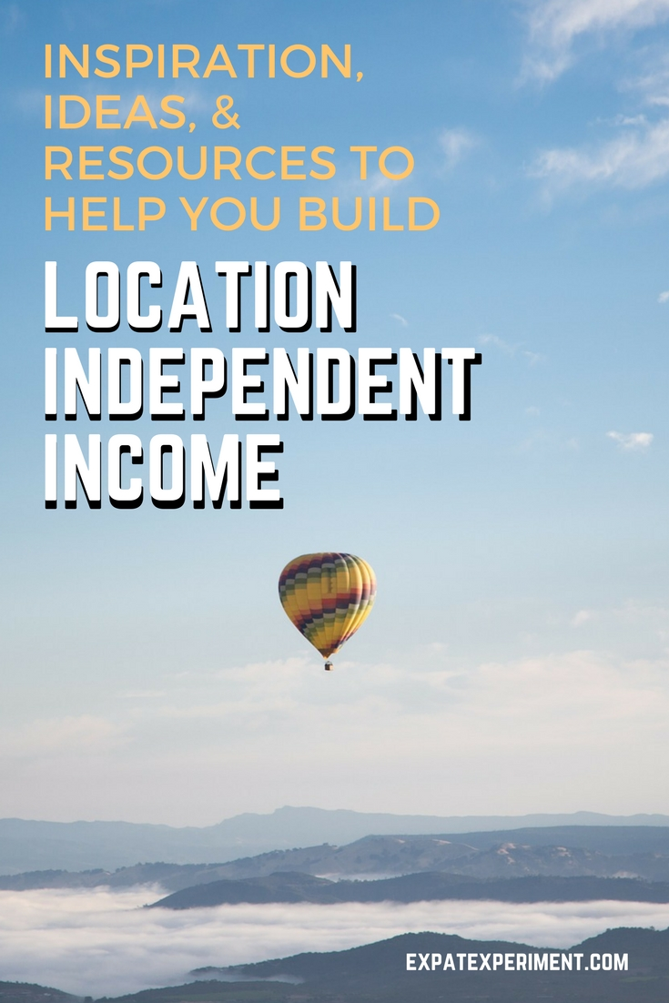 Want to make money while traveling? Here are some great ideas on ways to build location independent income!