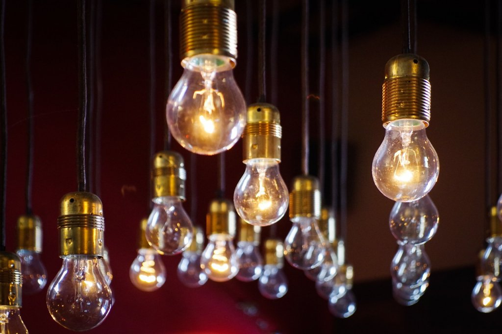 ways to build location independent income- light bulbs