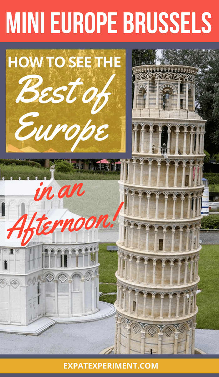 Imagine being able to travel to one place and experience visiting all of the most famous sites in Europe throughout history.You can at Mini Europe Brussels!