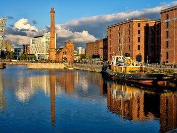 Docklands Liverpool England