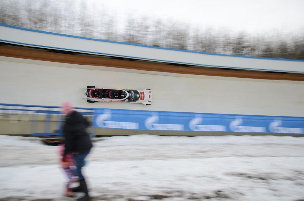 Public bobsleigh Calgary