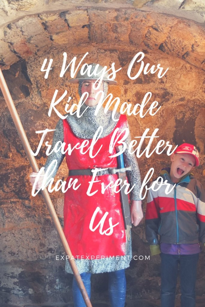 Some things are harder to do now that we're parents. But others, like travel, are much better because of our Son. Want to learn how kids make travel better?
