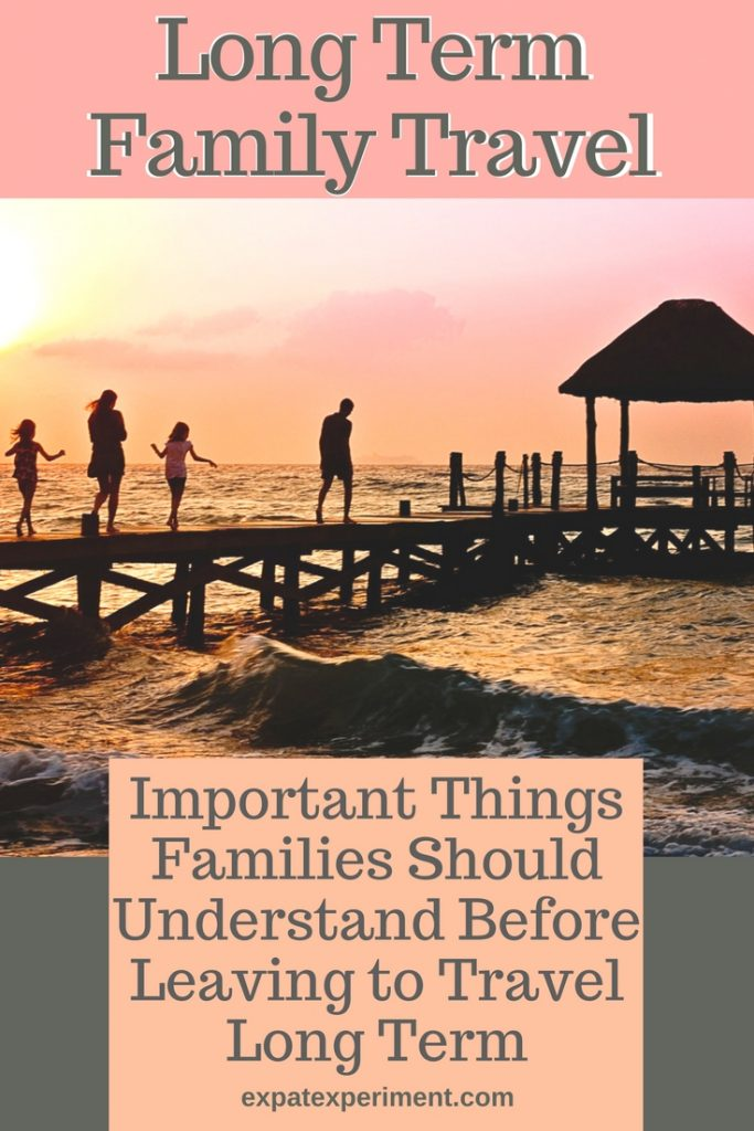Are you preparing for long term travel with your family? This post could help you avoid some costly mistakes.