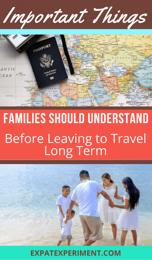 This post includes a few important aspects people seem to forget or tend to overlook altogether before leaving (or even as they are traveling). Paying attention to these key things could help you avoid costly mistakes, even if your travel trajectory is largely unplanned. Here are important things families should consider while preparing for long-term travel.